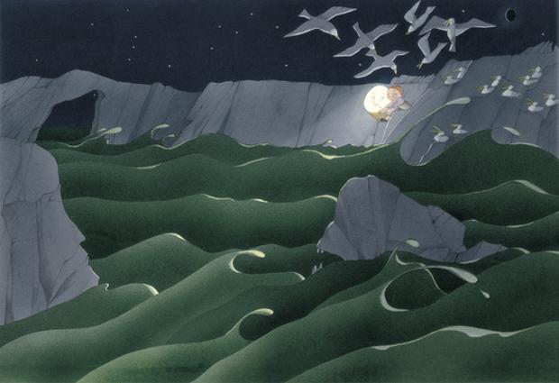 Carme Solé, Premio Nacional de Ilustración 2013 La Lluna de'n Joan
