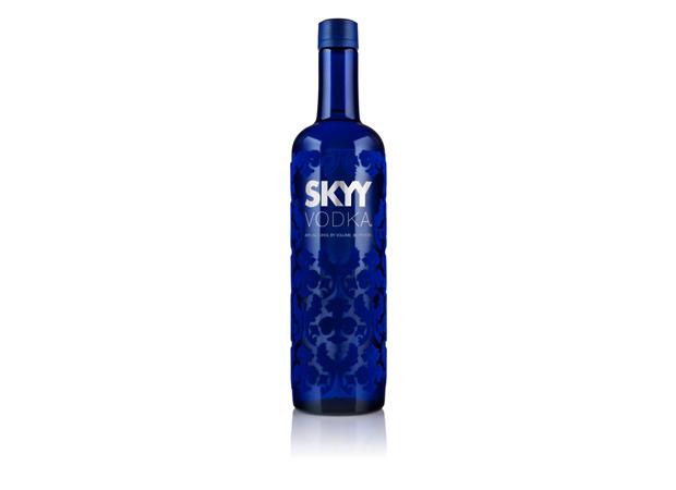 Nuevas tendencias en diseño de packaging, Vodka Skyy