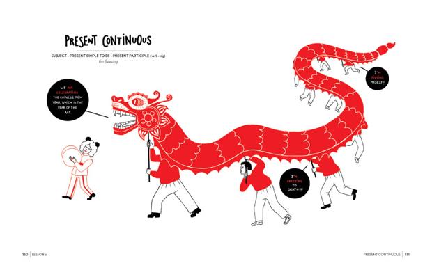 Luci Gutiérrez, ilustradora y autora de English is not easy
