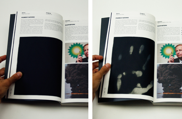 Power, páginas interiores del PFC del diseñador Guillem Casasús
