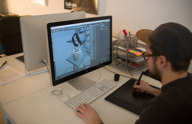 Serial Cut, trabajo en 3D