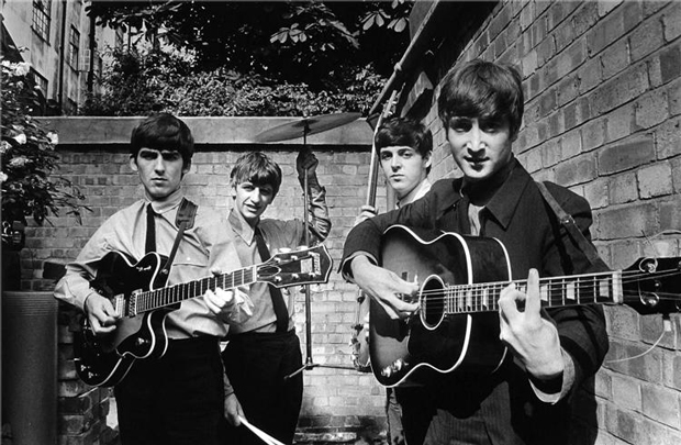 Terry O'Neill – 1ª foto de The Beatles en los estudios Abbey Road (Londres, 1963)