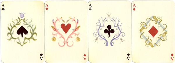 juego de naipes de A.M. Cassandre para Hermès