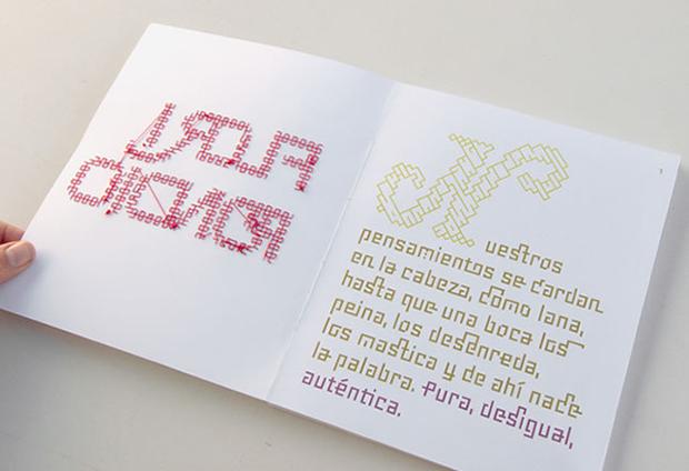 Floripondio, proyecto editorial diseñado por Estudio Nariz
