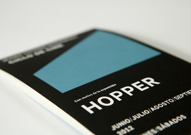 Sánchez Lacasta, programa ciclo cine Hopper