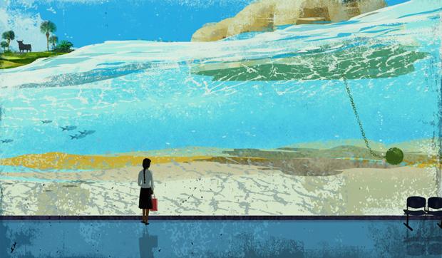 Eva Vázquez, ilustración para Carmen Riera