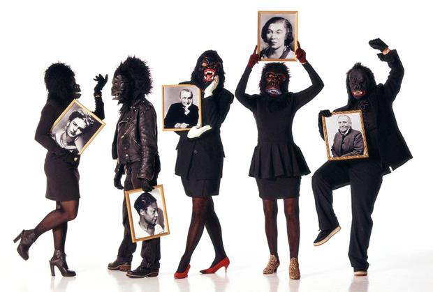 Guerrilla Girls, colectivo artístico de activismo feminista, exposición en AlhóndigaBilbao