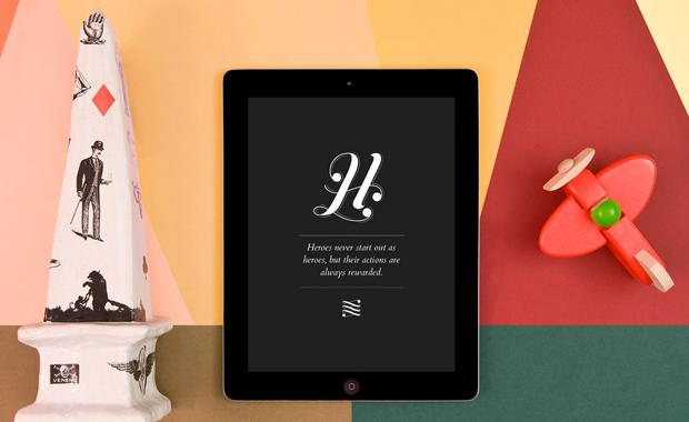 Notegraphy, ejemplo de la app para iPad