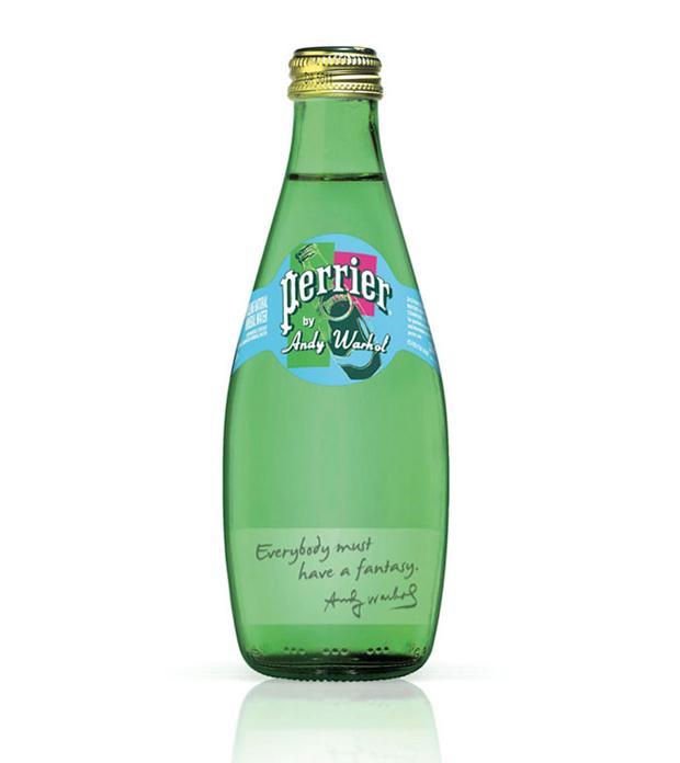 Perrier, botella Warhol 150 aniversario