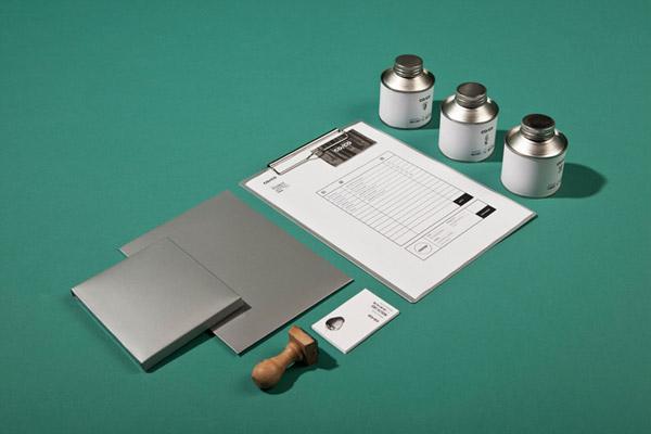 Co/Co, elementos de papelería e identidad visual diseño de Tatabi Studio