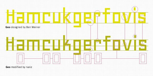 Floripondio, tipografía inspirada en Geo
