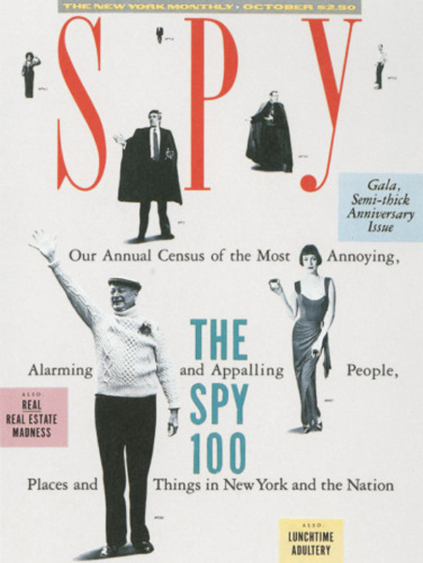 Diseño editorial, Spy