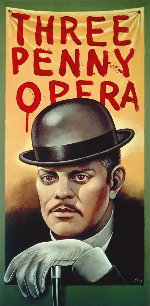 05 threepenny opera Paul Davis Los 10 posters más admirados por su diseño en 50 años de historia
