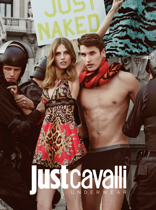 Just Cavalli, campaña inspirada en el 15M