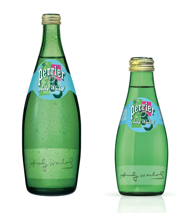 Perrier, packaging 150 aniversario