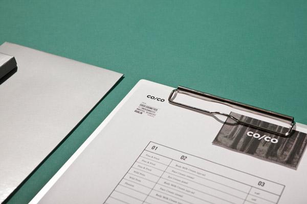 Co/Co, tarjetas corporativas diseño de Tatabi Studio