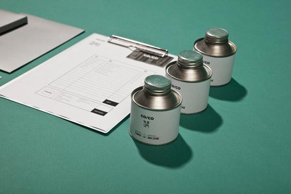 Co/Co packaging e identidad visual de Tatabi Studio