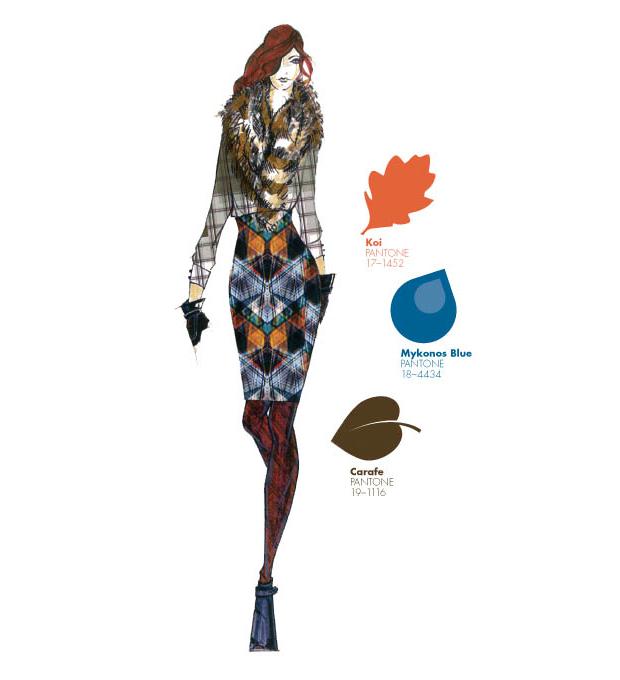 Koi, Mykonos Blue y Carafe, en el Top 10 colores Pantone otoño-invierno 2013