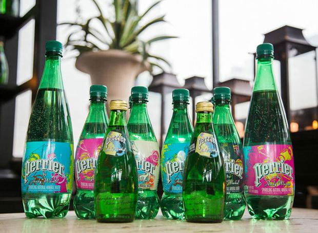 Botellas Perrier, edición Warhol 150 aniversario
