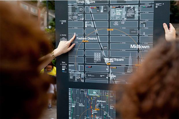WalkNYC, caminando por el lado más funcional del diseño con Pentagram