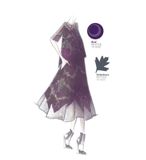 Acai y Turbulence, en el Top 10 colores Pantone otoño-invierno 2013