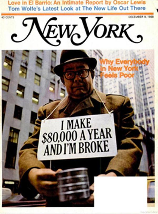 Diseño Editorial, New York mag