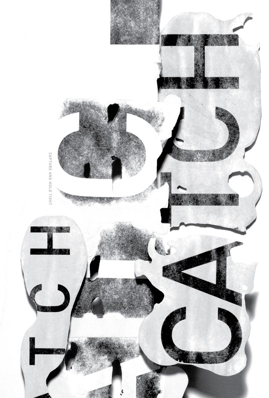 16 carteles tipográficos para ilustrar a J.D. Salinger