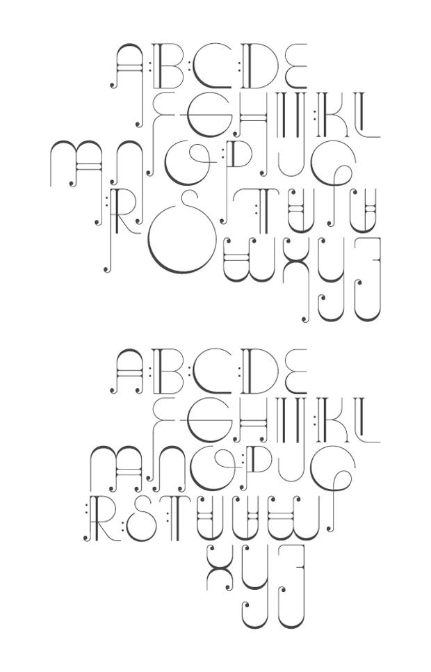 Ana Gómez Bernaus, alfabeto Octave