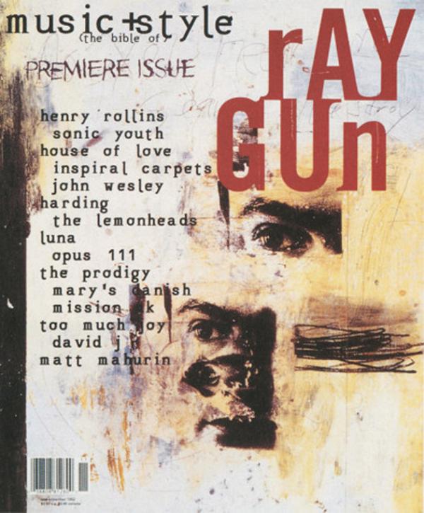 diseño editorial, Ray Gun