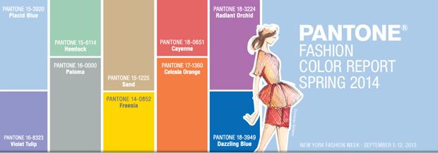 10 colores Pantone 2014