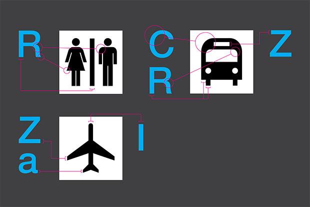 WalkNYC, iconos localización
