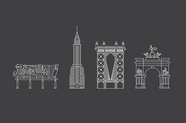 WalkNYC, edificios emblemáticos de NY