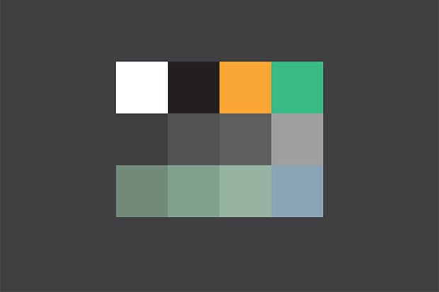 WalkNYC, paleta cromática