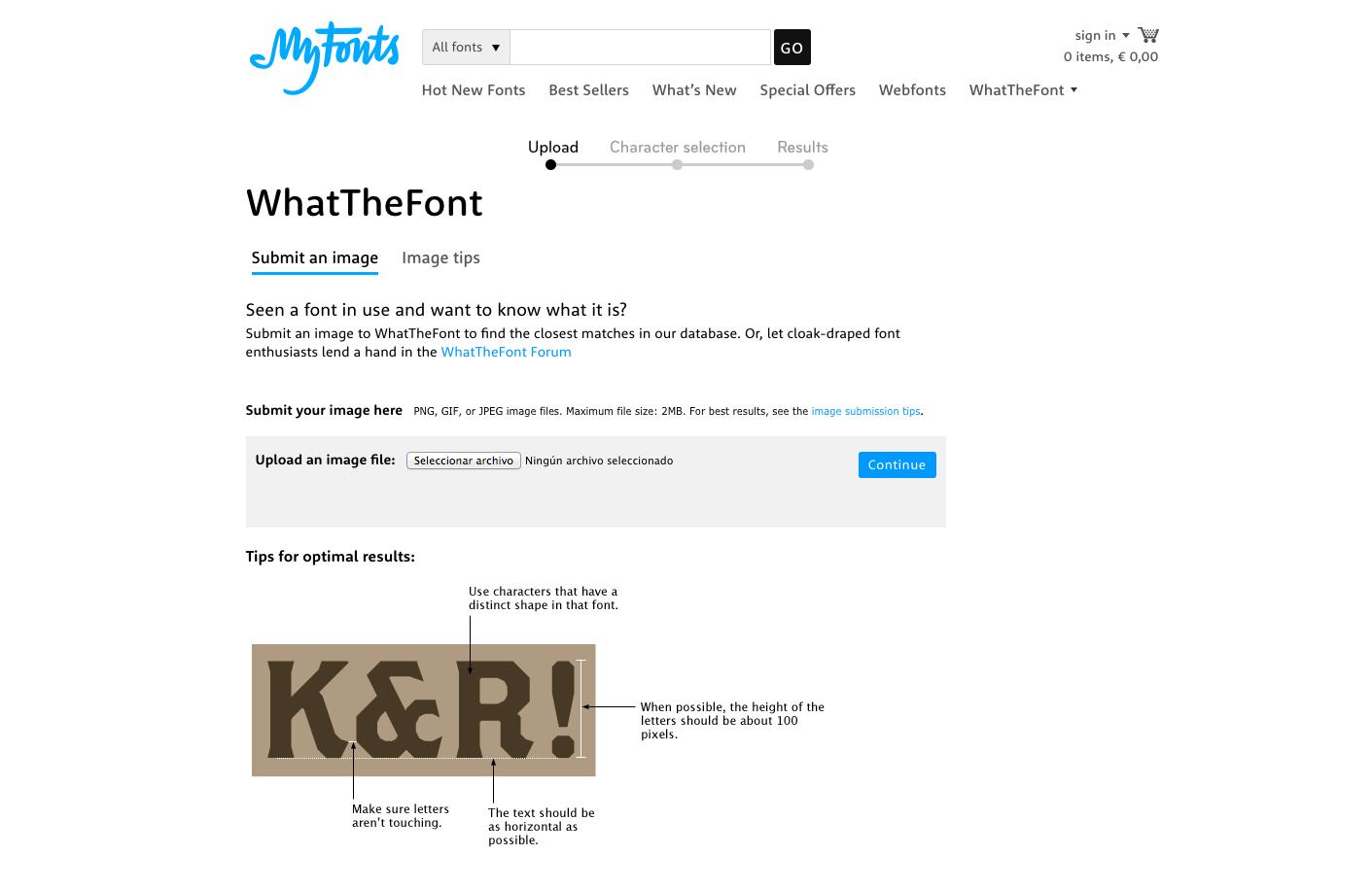 Siete herramientas para identificar una tipografía