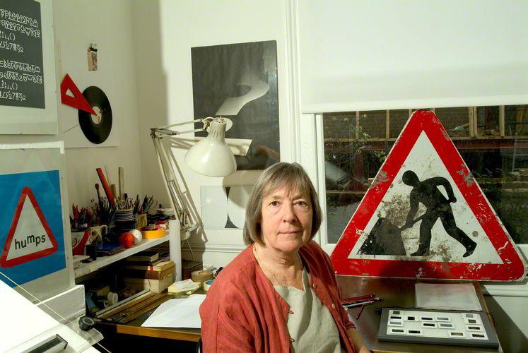 NPG x126785; Margaret Calvert by Steve Speller