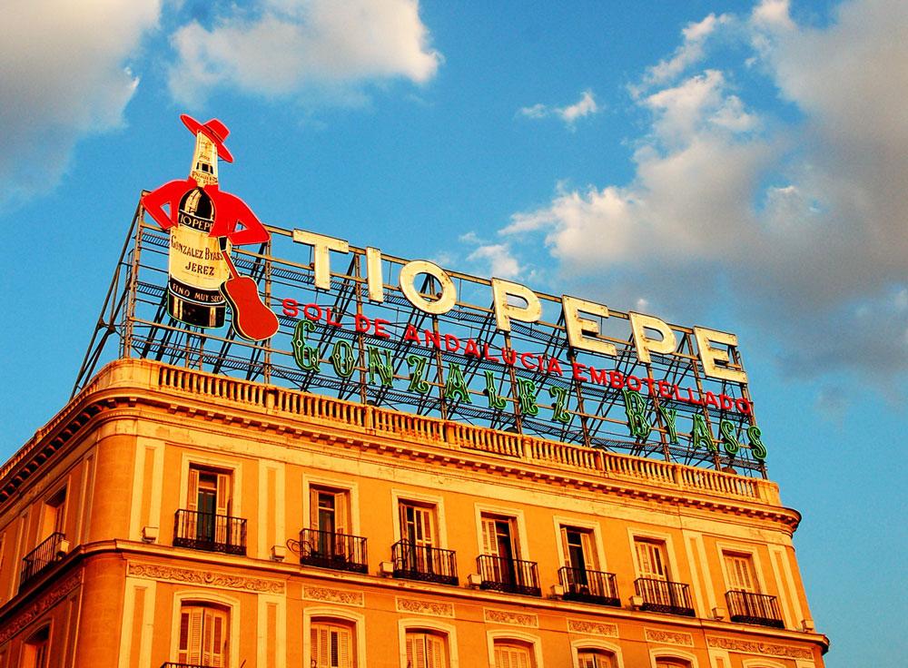 ¿Quién diseñó el icono de Tío Pepe?