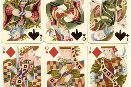 El juego de naipes que Cassandre ilustró para Hermès
