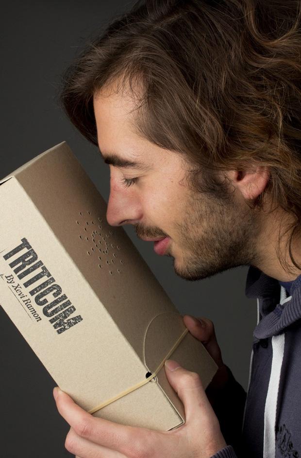 Lo Siento, diseño de packaging sensorial
