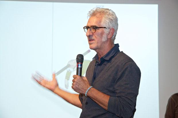 Miguel Gallardo, foto del dibujante