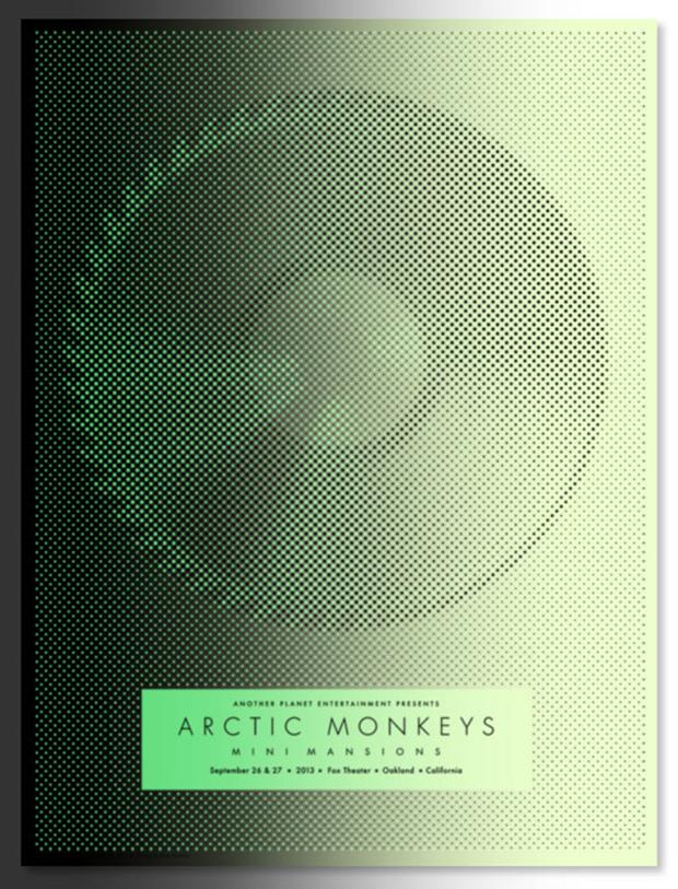Álex Trochut, Artic Monkeys