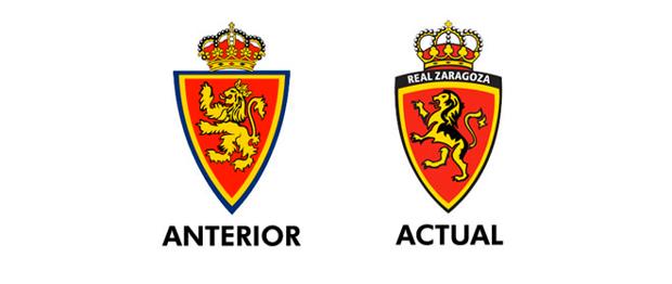 rediseño imagen clubes de fútbol, Real Zaragoza