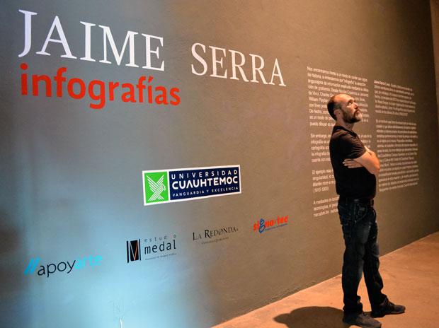 Jaime Serra, infografista