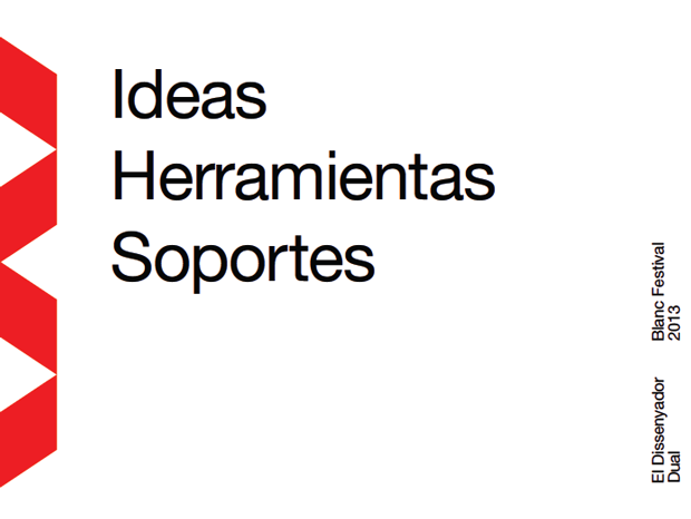 Bisgràfic, el diseñador dual – ideas, herramientas, soportes
