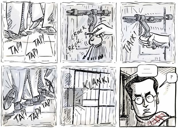 Sento Llobell, viñetas de Un médico Novato
