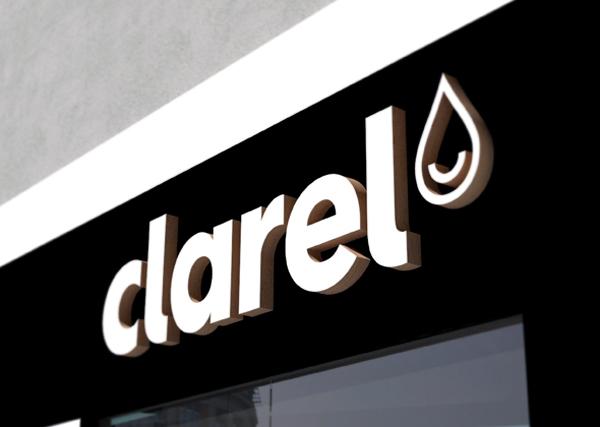 Clarel, marca diseño de Interbrand para Grupo DIA, entrada a tienda