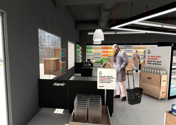 Clarel, marca diseño de Interbrand para Grupo DIA, implantación en el punto de venta