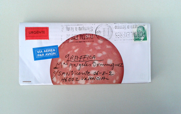 Carta manuscrita de America Sanchez