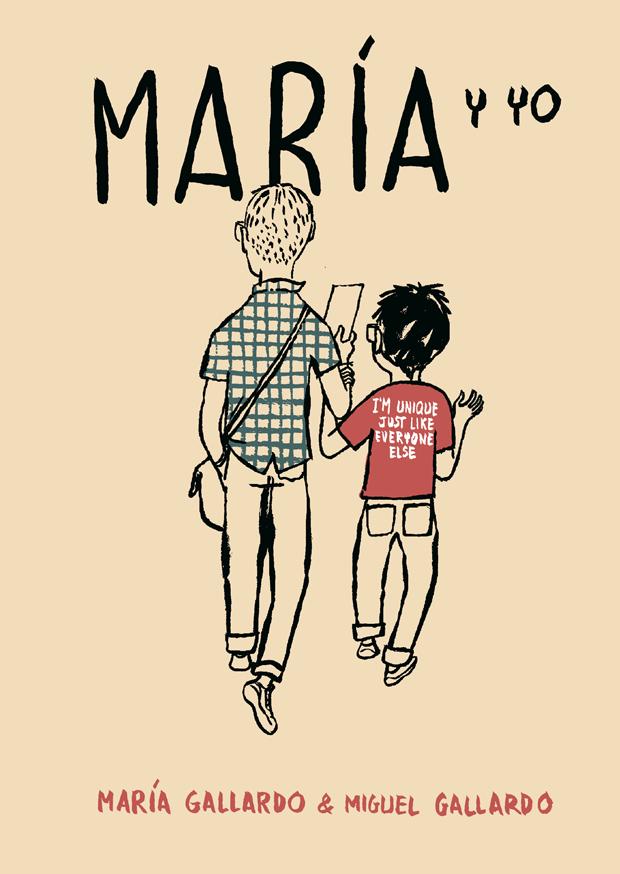 Astiberri, portada de María y yo, cómic de Miguel Gallardo