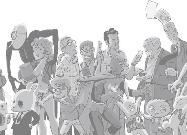 Astiberri, personajes