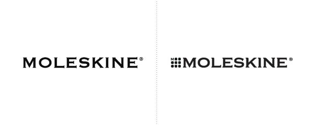 Moleskine, diseño de branding